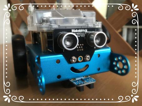 愛らしいロボットmBotくん