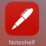 おしゃれでおすすめiPadノートアプリ【noteshelf】の紹介 その1