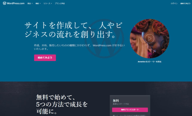 WordPressサイト