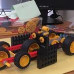 子供たちの発想転換の素晴らしいこと!体験でこんなロボット作りました。